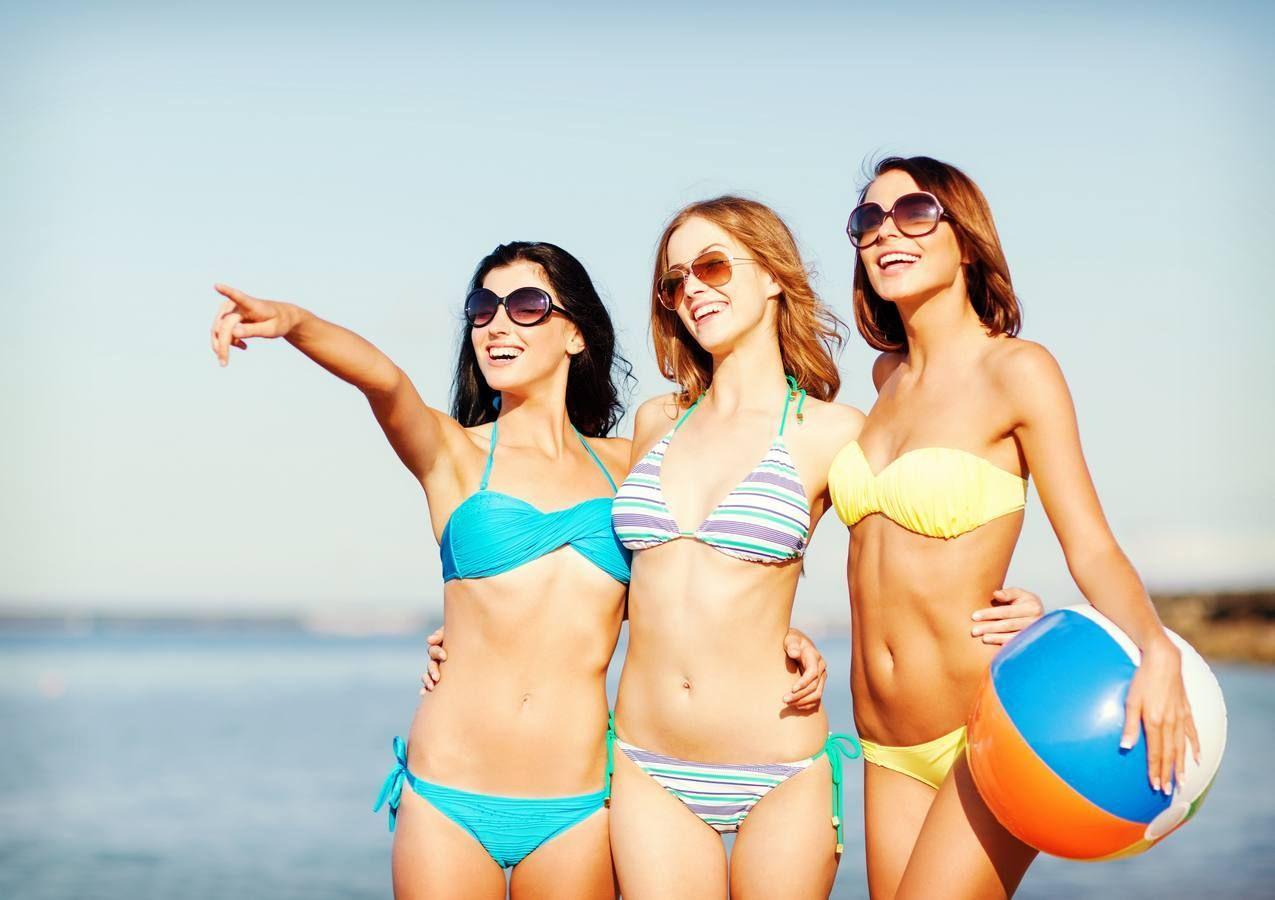 Bikini chicas en jovenes